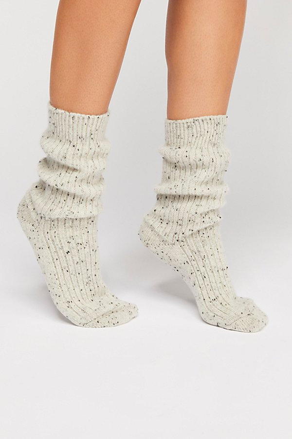 Slide View 2: Favorite Slouchy Cashmere Sock