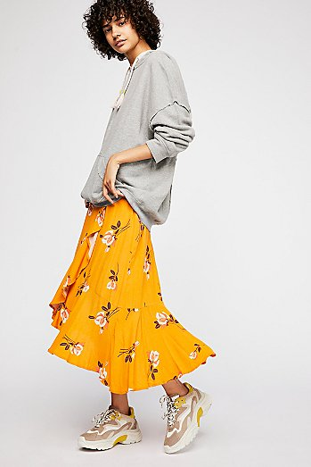 Heart Of The City Wrap Skirt