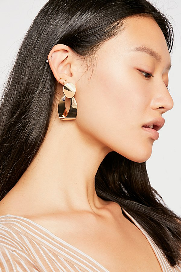 Slide View 1: Spring Hoop Earrings