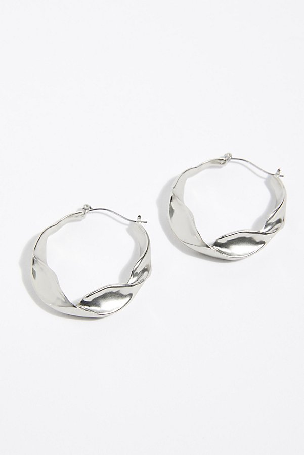 Slide View 4: Bell Hoop Earrings