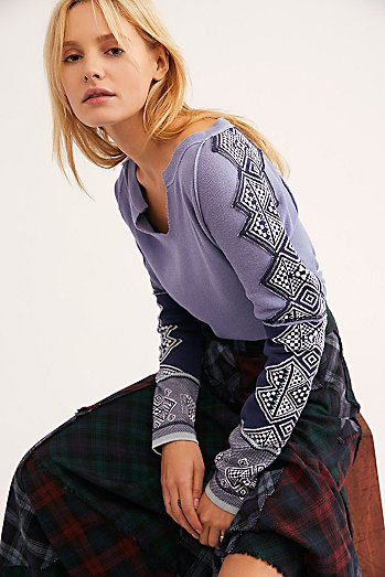 Nordic Long Sleeve Top