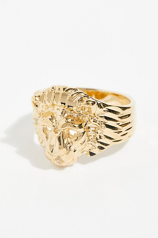 Slide View 2: Lion Ring