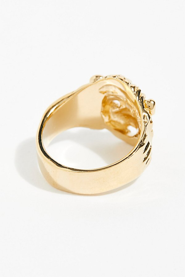 Slide View 3: Lion Ring