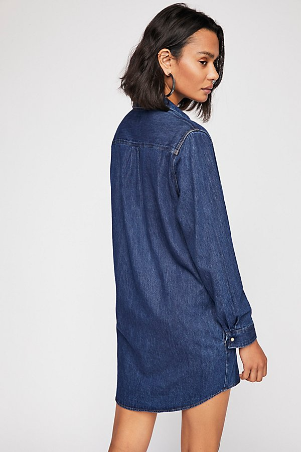 Slide View 2: Wrangler Denim Dress