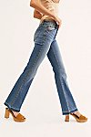 缩略视图 3: Driftwood Isabel Embroidered Flare Jeans