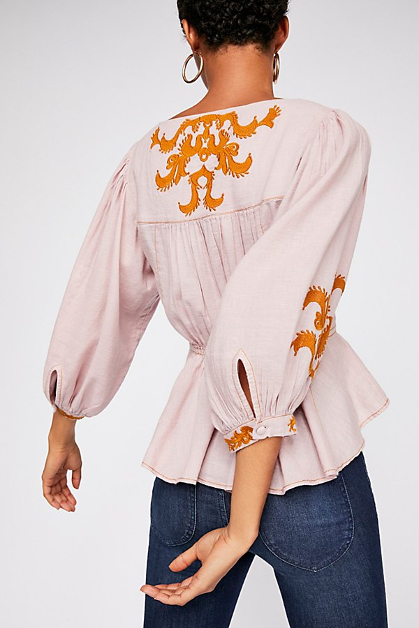Slide View 2: Sweet Serenade Embroidered Blouse