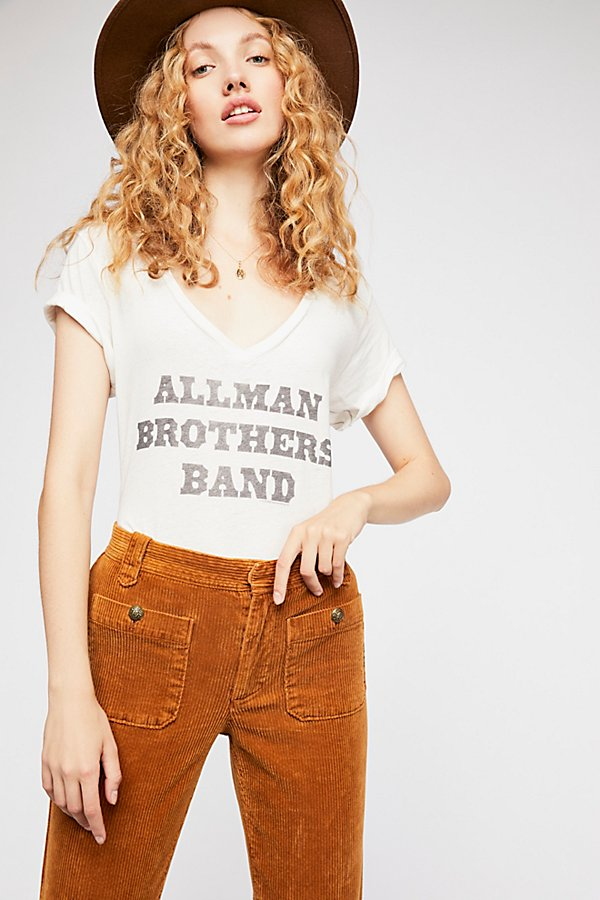 Slide View 1: Allman Brothers Band V-Neck Tee