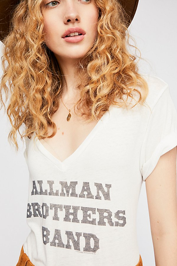 Slide View 3: Allman Brothers Band V-Neck Tee