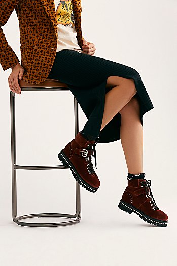 Quinn Lace Up Boot