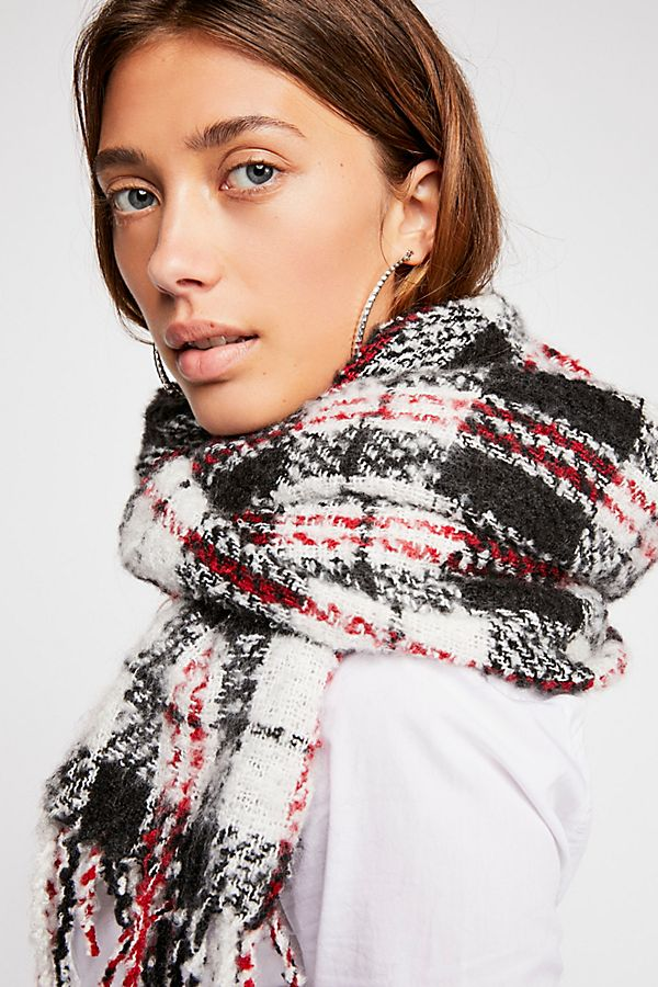 Plaid Blanket Scarf | Free People