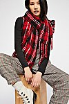 Thumbnail View 1: Emerson Plaid Scarf