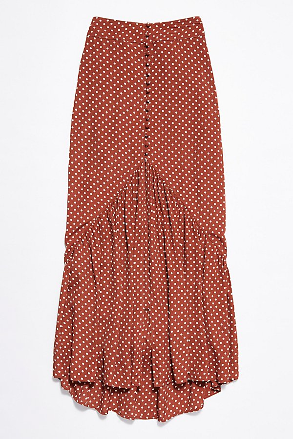 Slide View 4: Unbutton Me Midi Skirt