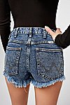 Thumbnail View 4: Wrangler Acid Wash Denim Shorts