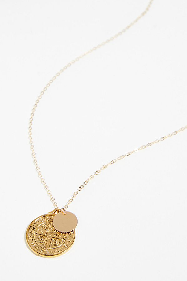 Benito Coin Necklace | Free People