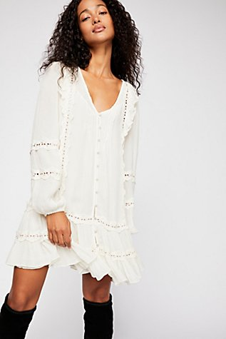 Snow Angel Mini Dress