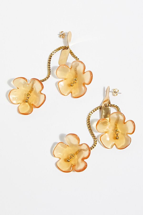 Flower Resin Earrings | Free People