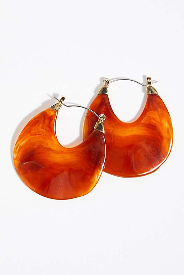 Slide View 3: Stella Resin Earrings