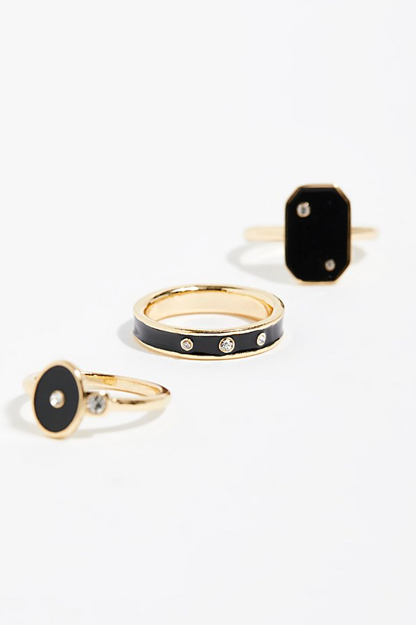 Slide View 2: Starry Stud Ring Set