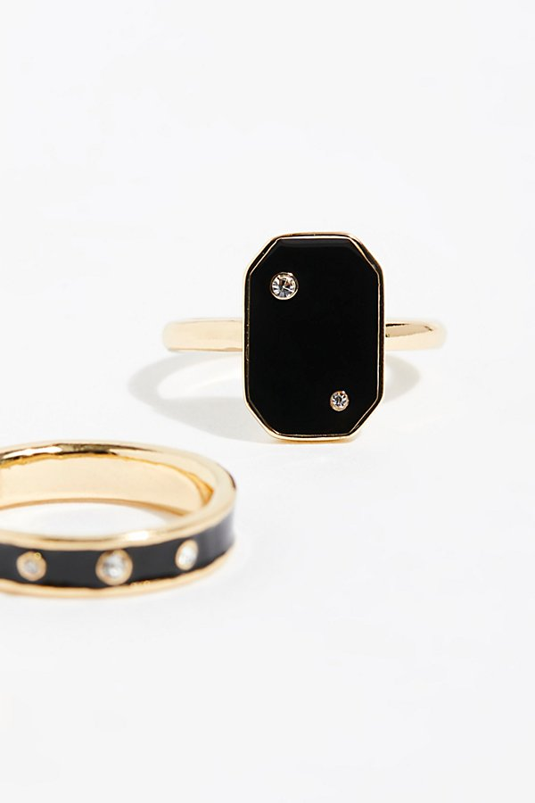 Slide View 4: Starry Stud Ring Set