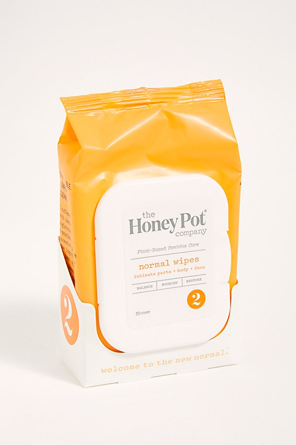 Slide View 1: The Honey Pot Normal Wipes