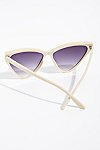 Thumbnail View 4: Creamsicle Cat Eye Sunglasses