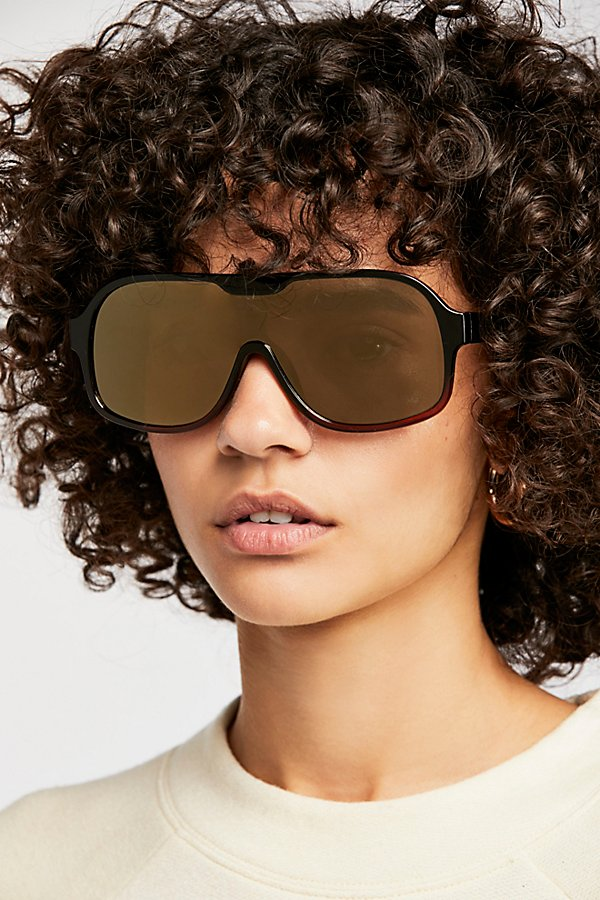 Slide View 1: Laura Aviator Sunglasses
