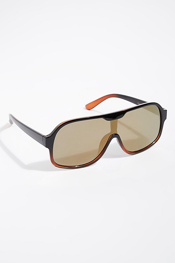 Slide View 2: Laura Aviator Sunglasses