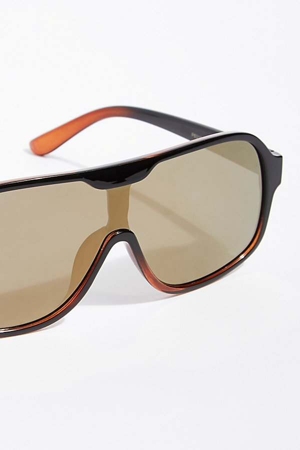 Slide View 3: Laura Aviator Sunglasses