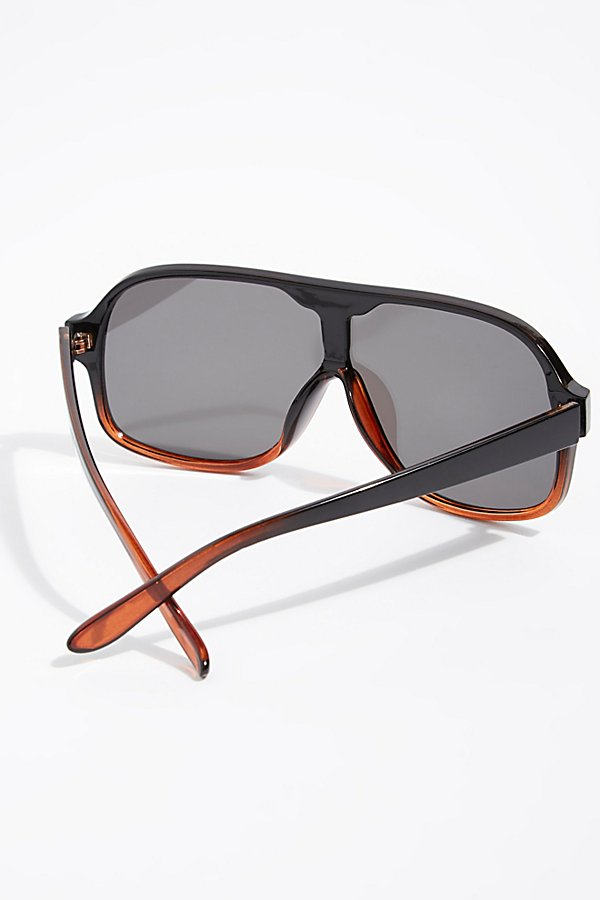 Slide View 4: Laura Aviator Sunglasses
