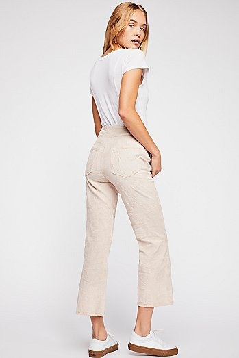 Liv Crop Flare Jeans