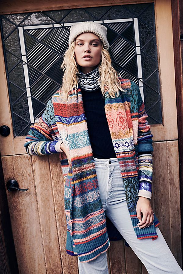 Fantasia Fairisle Cardi | Free People