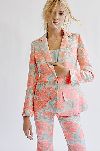 Jackpot Brocade Blazer Co-Ord