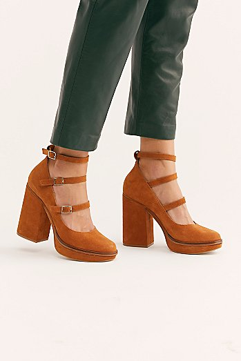 Suede Perfect Pair Platform
