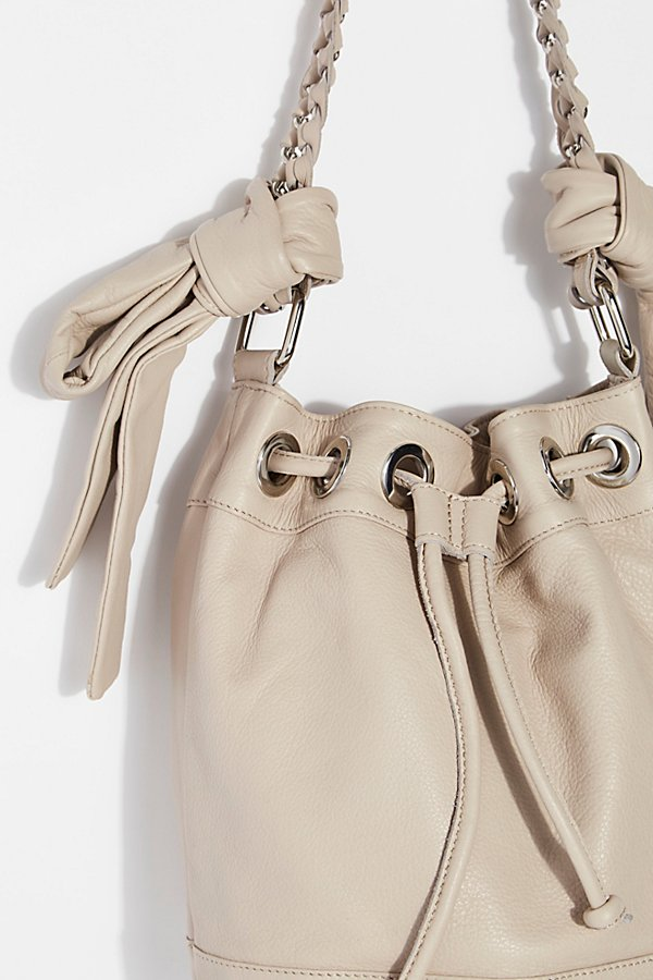 Slide View 3: Holly Bow Bucket Bag