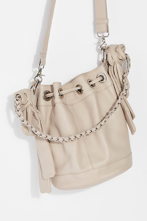 Slide View 4: Holly Bow Bucket Bag
