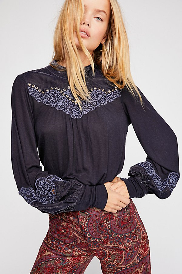 Slide View 1: So Studded Top