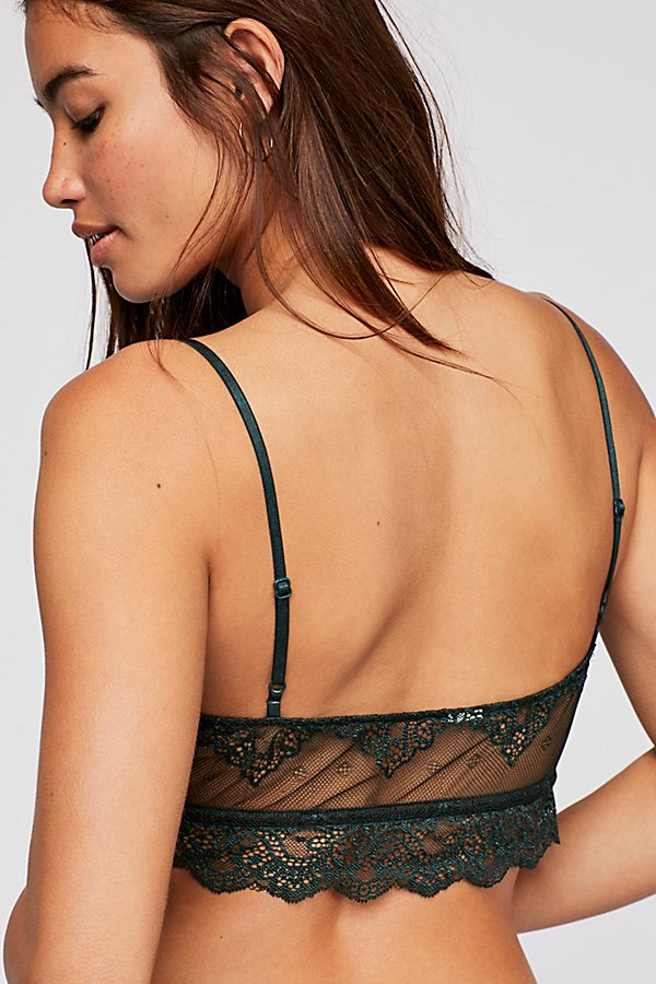 Slide View 3: So Fine Sheer Lace Bralette