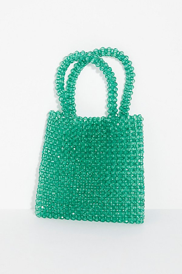 Slide View 2: Beaded Mini Tote