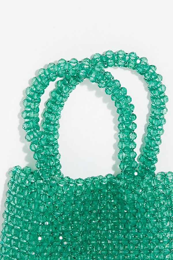 Slide View 3: Beaded Mini Tote