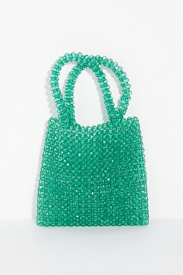 Slide View 4: Beaded Mini Tote