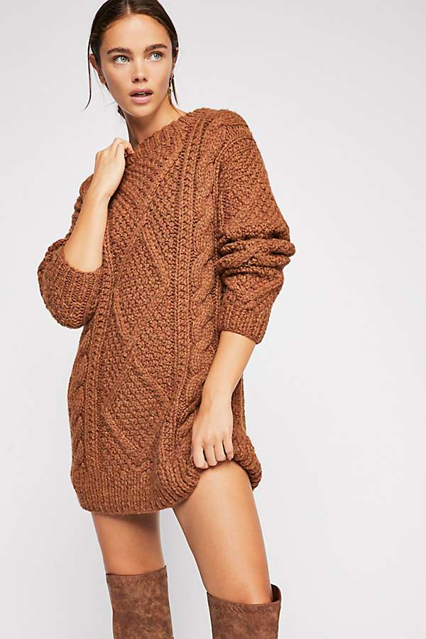 Imogen Cable Knit Sweater | Free People