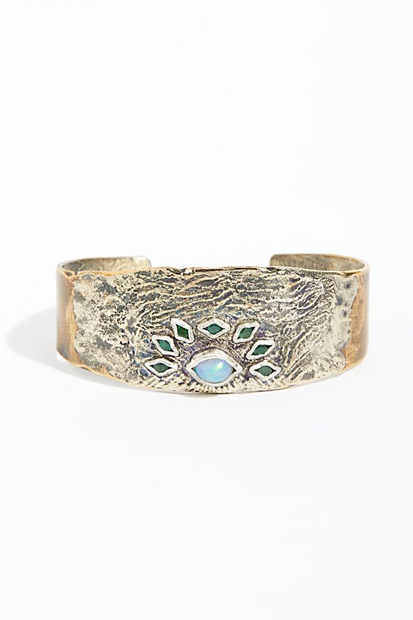 Slide View 1: Opal Eyes Cuff