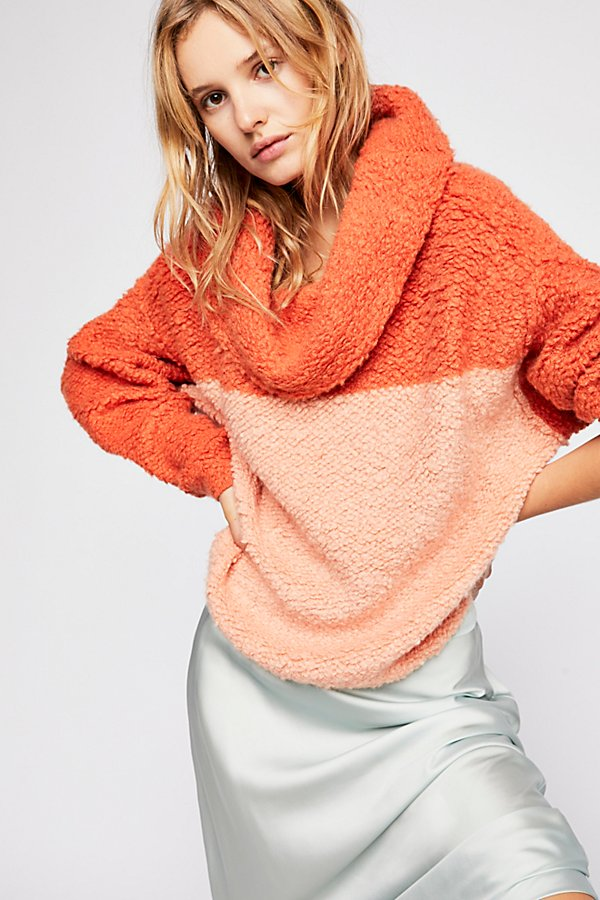 Slide View 3: Sherpa Cashmere Sweater