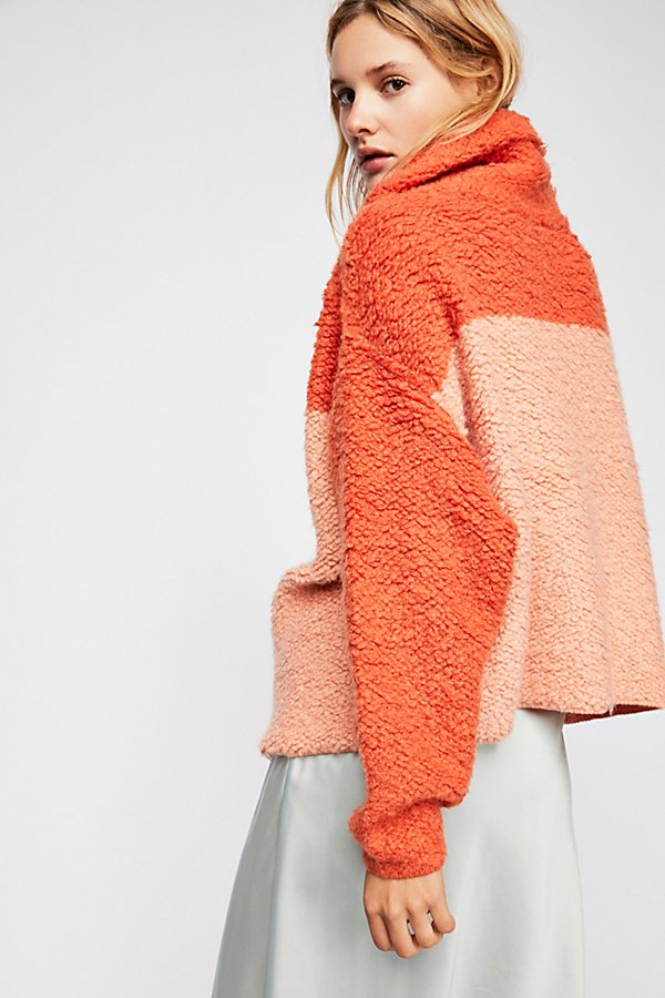 Slide View 2: Sherpa Cashmere Sweater