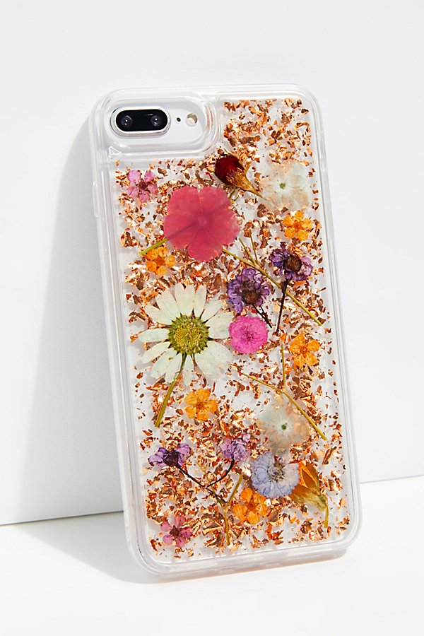 Slide View 1: Luxe Pressed Flower Phone Case