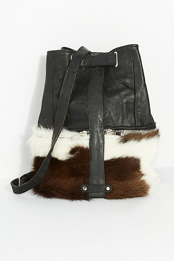 Slide View 2: Almis Cow Leather Backpack