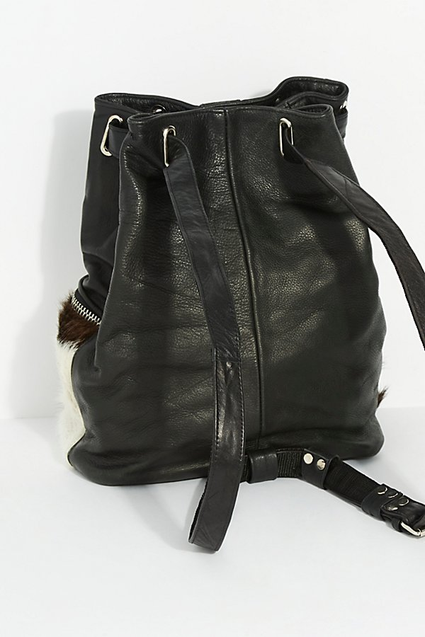 Slide View 4: Almis Cow Leather Backpack