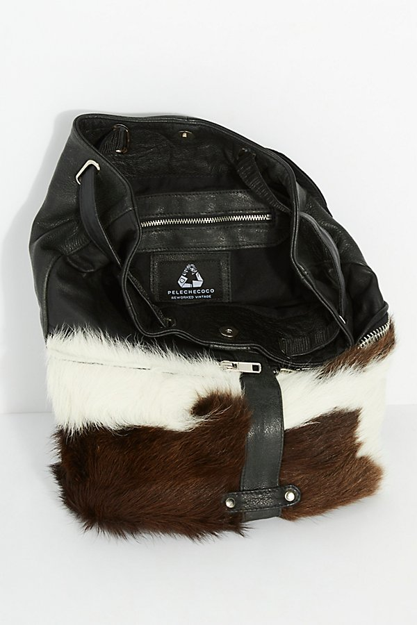 Slide View 6: Almis Cow Leather Backpack
