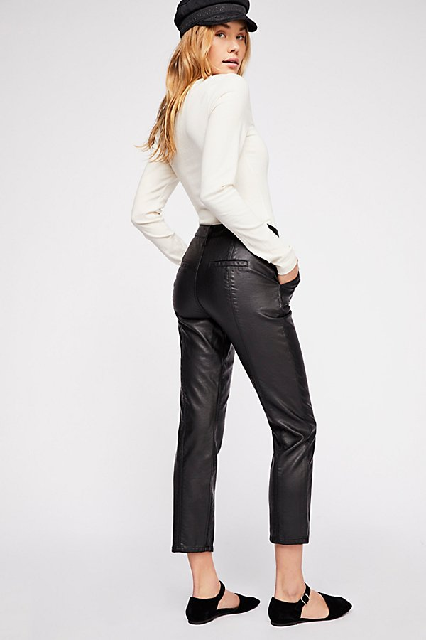 Slide View 2: Slim Vegan Trouser