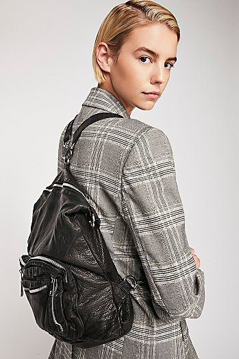 Chelsea Convertible Leather Backpack